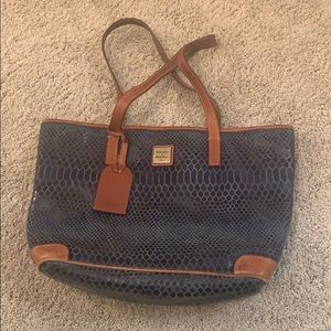 Dooney and Bourke blue purse